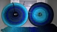 192 Wassertropfen - Bobbel - 4fädig 8 Farben - von 380 m bis 1500 m