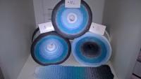 094 Eisblauer Fluorit II Bobbel - 4fädig 8 Farben mit u. ohne Lurex - LL von 760 m bis 1500 m wählbar