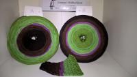 236 Distel - Farbverlaufsgarn - 4fädig mit 5 Farben - Lauflänge von 380 m bis 1500 m wählbar