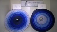239 Stille Nacht - Farbverlaufsgarn - 4fädig 4 Farben - Lauflänge von 380 m bis 1500 m wählbar
