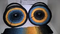 175 Halloween -  4 fädig / 7 Farben - von 380m bis 1500m wählbar