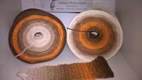 049 Orange Zimt u. Nelken - 4 fädig 5 Farben - von 380m bis 1500m wählbar