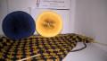 Wasserspiel 002 - 2 Bobbel je ca. 380m 4fädig mit je 3 Farben